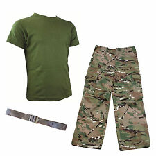 Kids Pack 1 HMTC MTP / MultiCam Match - Army Camo Fancy Dress Outfit + BELT