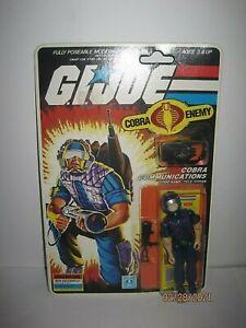 Vintage 1985 GI Joe Cobra Communications  Tele-Vipers Sealed Card NR!!!!!!!!!!!