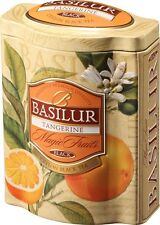 Basilur Tea - Tangerine Ceylon Tea -Tin Caddy  100g