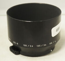 Genuine Nikon HS-8 Metal Clip-On Lens Hood f/ 105/2.5 135/3.5 105/4 lens #499