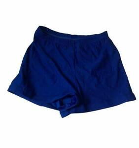 New Youth Adult Alleson Cheerleading Blue Bike Shorts Free US Shipping (X4)