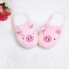 Lovely Cartoon Women Slippers Winter Warm Indoor Home Floor Soft Slippers Shoes