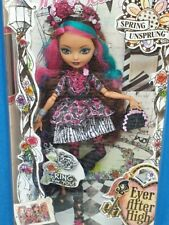 EVER AFTER HIGH SPRING UNSPRUNG BRIAR BEAUTY REPLACEMENT SILVER ROSEBUD EARRINGS