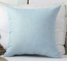Home Brilliant Blue Throw Pillow Cover Sham cover 26x26 NEW