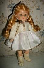 "1950's 8"" Pam Doll, Ginny's Friend ~ Original Majorette Outfit"