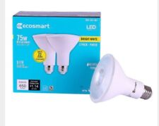 EcoSmart 75W Equiv Bright White PAR30 Dimmable LED Flood Light Bulb 2-Pack