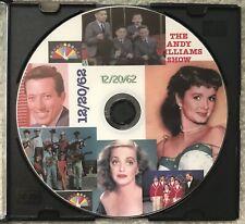 THE ANDY WILLIAMS SHOW Dec 20, 1962 no time code with original ads Bette Davis