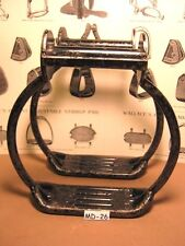 HEAVY Cowboy IRON Saddle Stirrups for Big Man MUD or SNOW BOOT SIZE MAKE OFFER