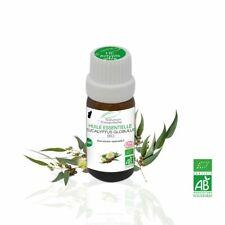 Huile Essentielle BIO Eucalyptus Globulus 10ml. ABLabel, Ecocert Bio 100 % Pure.