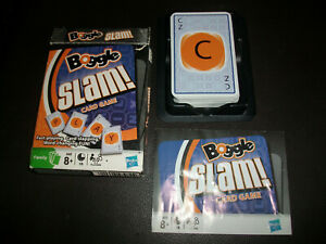 Boggle Slam Card Game Complete with Instructions Free P+P