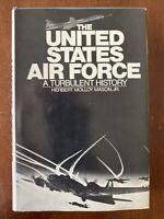 THE UNITED STATES AIR FORCE - HERBERT MOLLOY MASON, JR. VINTAGE 1976 BOMC HC/DJ