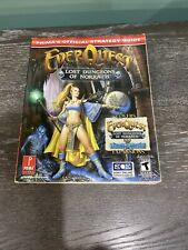 Everquest: Lost Dungeons of Norrath Prima Official Strategy Guide with Poster