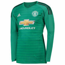 186e01517 Manchester United Goal Keepers Kit Football Shirts (English Clubs ...