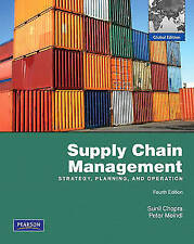 Supply Chain Management: Global Edition, Chopra, Sunil & Meindl, Peter, Used; Ve