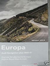 AUDI NAVIGAZIONE DVD a3/a4/a6/TT/Navi Plus RNS-E Germania Europa occidentale 2013