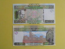 Billet de 500 francs de Guinée