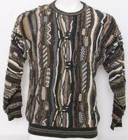 Croft & Barrow Coogie Biggie Cosby Vtg 90's LS Textured Knit Sweater Men's M