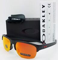 fa86a0720cd NEW Oakley Sliver Edge sunglasses Matte Black Prizm Ruby AUTHENTIC red  9414-0263