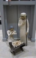 """Nativity Manger ONLY - Handcrafted Oak """"Willow Tree Compatible"""" New"""
