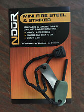 NDuR mini FIRE STEEL & STRIKER new # 31161 survival gear camping