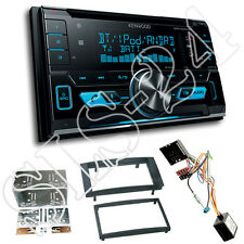 VW T5 Caravelle 2-DIN Blende+ CAN-Bus Radio Adapter+ Kenwood DPX5000BT Bluetooth