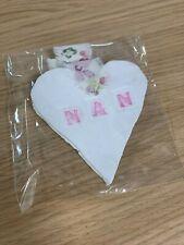 Handmade Decorative Nan Heart Hanging - Autism Awareness - Mother's Day