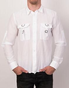 RICHMOND X Men's Shirt Size 48 Silk Blend