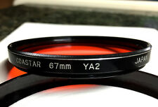 Coastar 67 mm YA2, Screw-In Filter, with Case, Japan, Scratch Free, Rare