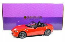 2015 / 2019 Mazda Roadster S MX-5 Red Kyosho Samurai 1/18 Leather Package