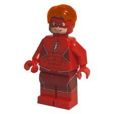 LEGO Custom UV Printed DC Rebirth Wally West Suit Minifigure Minifig