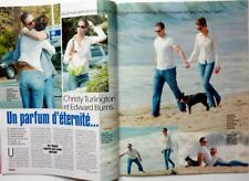 *CHRISTY TURLINGTON_EDWARD BURNS => 2 pages 2002 FRENCH CLIPPING