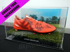 ✺Signed✺ JOSH DUGAN Boot PROOF COA St George Illawarra Dragons 2018 Jersey