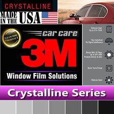 "3M Crystalline 70% VLT Automotive Car Truck Window Tint Film Roll 30""x78"" CR70"