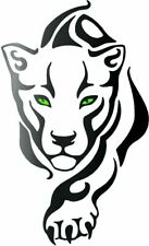 Panther Gold Silver Black Metallic Vinyl Sticker Decal Window Wall