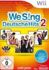 Nintendo Wii We Sing DEUTSCHE HITS 2 (ohne Mikro) BRANDNEU