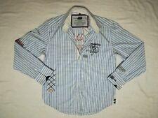 Van Santen & Van Santen luxus Casual Herrenhemd  langarm Gr. S=44-46 NEU !!