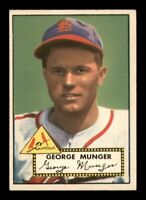 1952 Topps Set Break #115 George Munger EX-MINT *OBGcards*