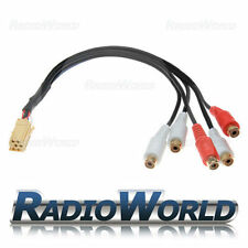 Blaupunkt RCA Pre Out Adaptor Lead 7 607 893 093 Cable