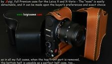 LUIGI's FULL CASE to LEICA X-VARIO,SOME COLORS AVAILABLE READY,MAKE YOUR CHOICE