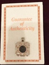 Widow's Mite Bronze Coin Cross Design Pendent 925 & Certificate Of Authenticity!