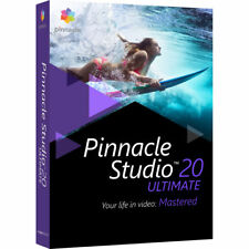 PINNACLE STUDIO 20 ULTIMATE VIDEO AUDIO EDITING SOFTWARE DVD