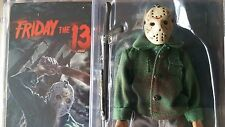 """NECA 8"""" Friday the 13th Part 3-D JASON VOORHEES Figure RETRO-STYLE CLOTHED Doll"""