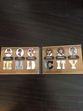 Seattle Mariners Relic Booklet Johnson Ichiro Rodriguez Triple Threads
