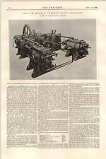 1899 Fraser Chalmers Chicago Air Compressor Hoisting Engine Creston Mine