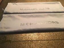 🌺🌹2 New Michael Kors Satin Dust Bag 15'' X 15'' White