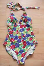 BODEN floral  Halterneck swimsuit  size 8 NEW