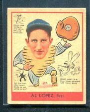 1938 Goudey AL LOPZ Bees #281 VGEX