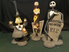 "Disney Nightmare Before Christmas Sally Jack & Mayor Bobble Head 12"" Touchtone"