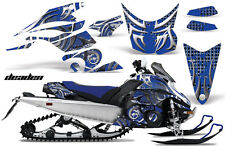 Snowmobile Graphics Kit Decal Sticker Wrap For Yamaha FX Nytro 08-14 DEADEN BLUE