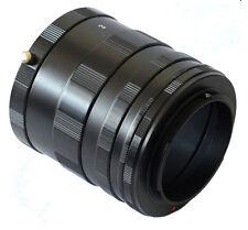 3 Ring Macro Extension Tube for Nikon G/F/AI/AIS Lens D7200 D7100 D5200 D800 D90